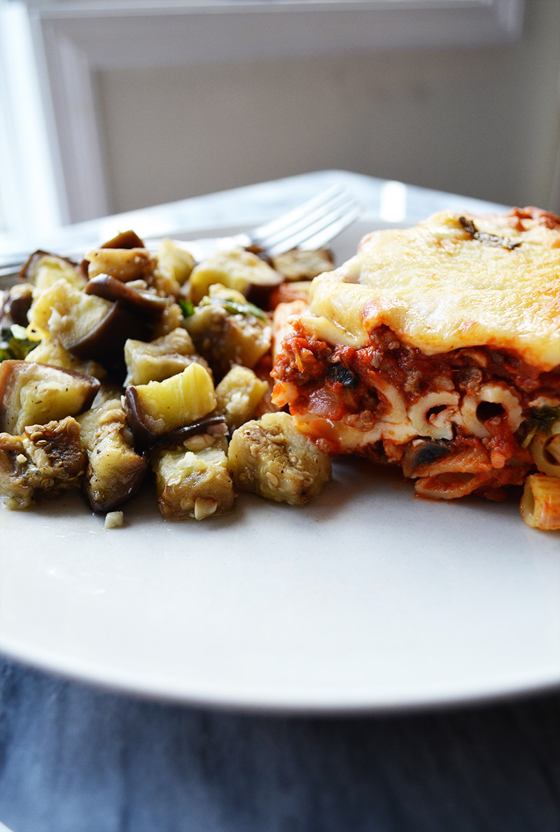 Baked Ziti 3 | Sprig and Flours