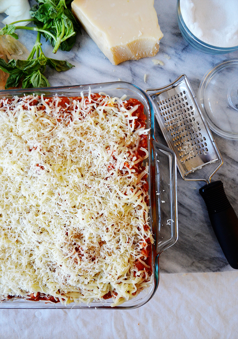 Baked Ziti Toppings 2 | Sprig and Flours